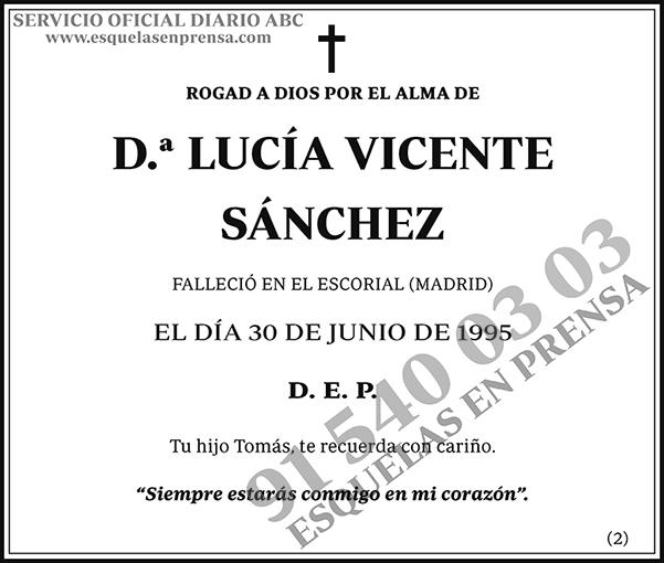 Lucía Vicente Sánchez